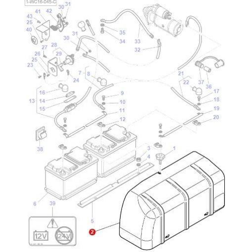 Battery Cover - 3786074M1