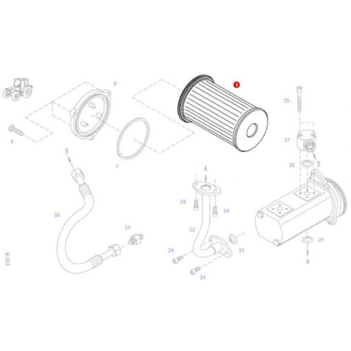 Suction Filter - H411101490100