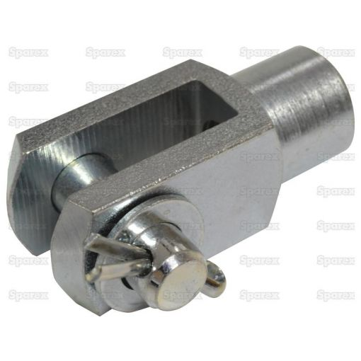 Metric Clevis End with Pin M12 () S.51316