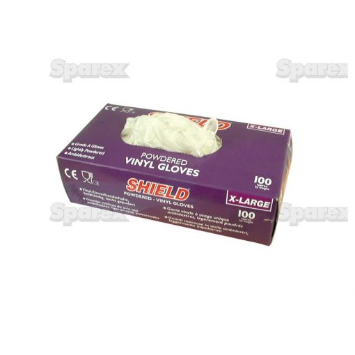 Disposable Vinyl Glove - XL (Qty in Box: 100) S.52981
