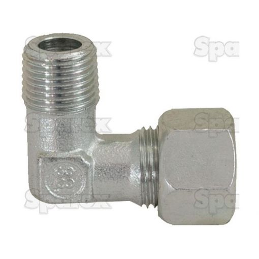 Hydraulic Metal Pipe Angled Stud Coupling G.E.V. 12L - 1/2''BSP 90 compact S.56410
