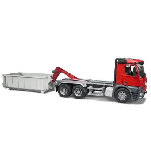 MB Arocs Truck with Roll Off-Container - 036225