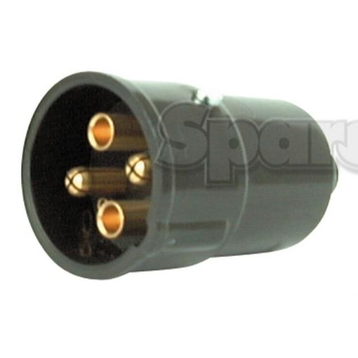 4-Pin Auxiliary Male Socket (Plastic) S.56470