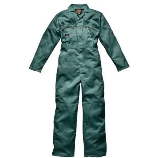 Redhawk Zip Front Overall Lincoln Green - WD4839LN