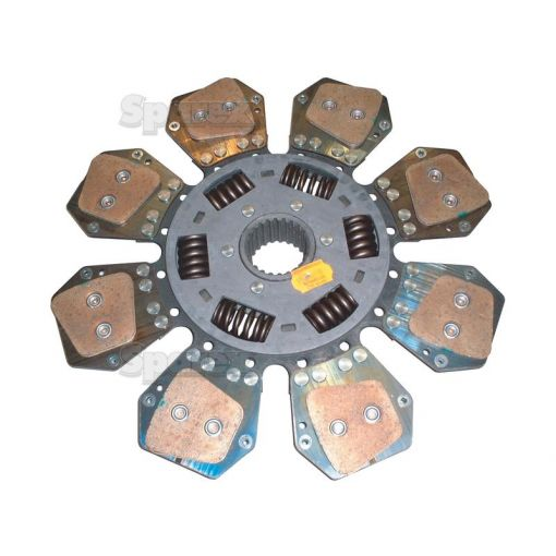 Clutch Plate Disc Size: 327mm