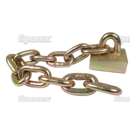 Flail Chain assembly 1/2'' x 11 short link S.78869