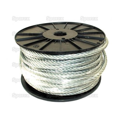 Wire Rope With Nylon Core 4mm Ø x 100m S.8474