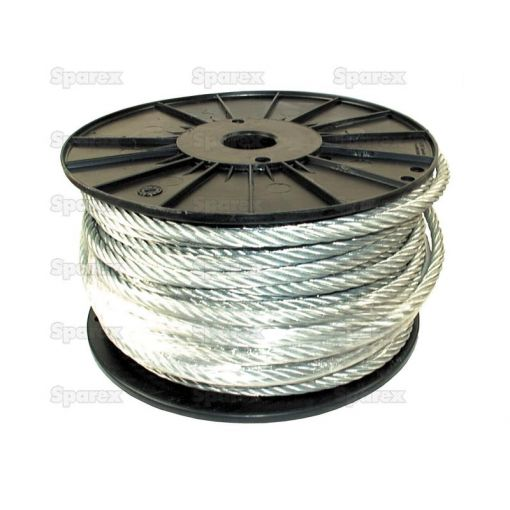 Wire Rope With Nylon Core 6mm Ø x 50m S.8476