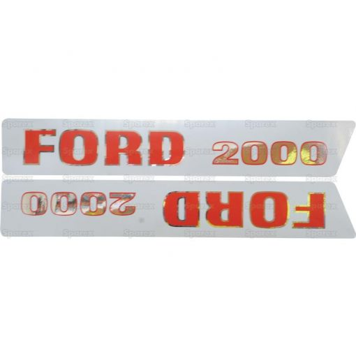 Decal Set - Ford / New Holland 2000 S.8534