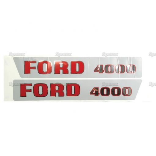 Decal Set - Ford / New Holland 4000 S.8536