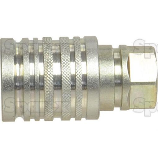 Hydraulic Quick Release Coupling 1/2Bsp Female With 3/4Unf Thread S.8905