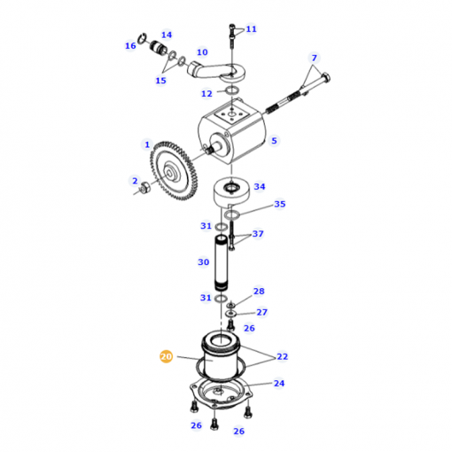 Suction Filter - G260100492030