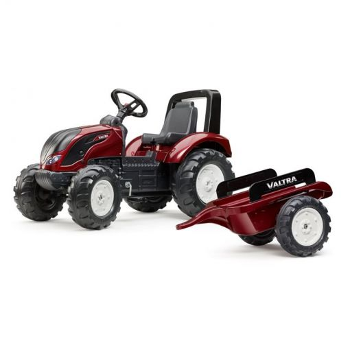 Pedal Tractor with Trailer, Metallic Red - V42801800