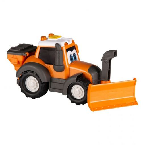 Toy tractor with Snow Blower - Happy Valtra - V42802240