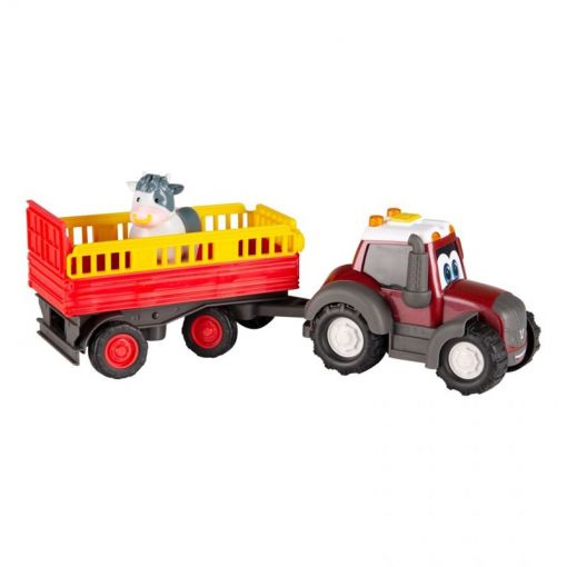 Toy Tractor with Animal Trailer - Happy Valtra - V42802260