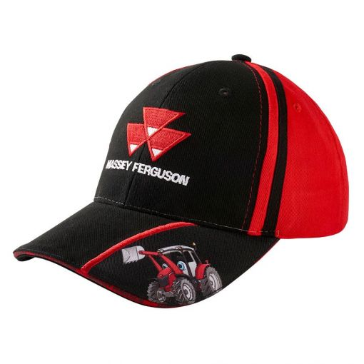 Black and Red Kids Cap - X993212001000