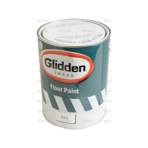 Red Oxide Floor Paint 5L Tin S.10647