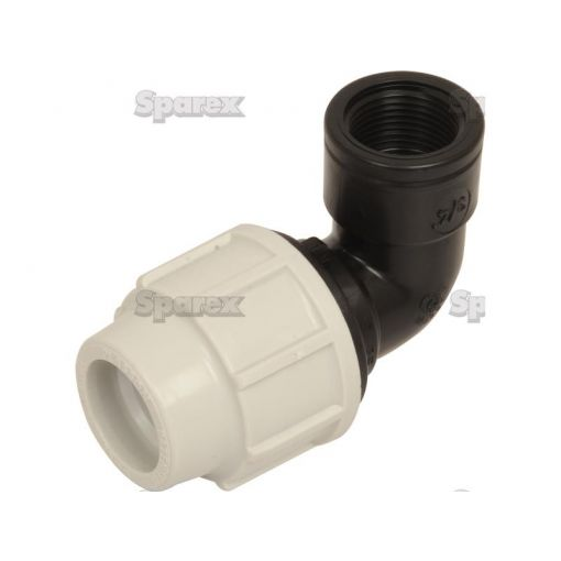 90° Elbow with Threaded Female Offtake - 25mm x 3/4'' S.106901