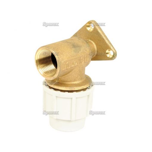 Wall Plate Elbow mm x 3/4""
