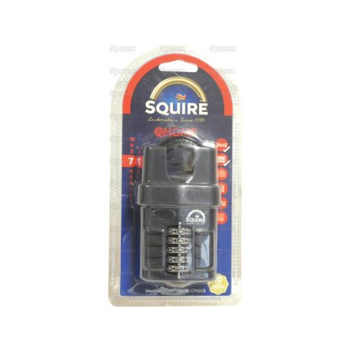 Squire Recodable CP Combination Padlock - Die Cast (Security rating: 7) S.114327