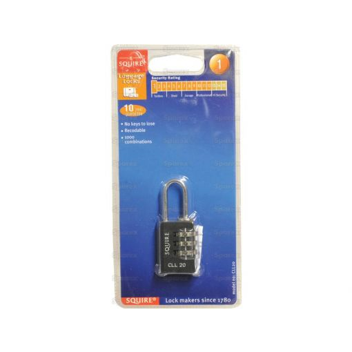 Squire Recodable Toughlock Combination Padlock - Die Cast (Security rating: 1) S.114335