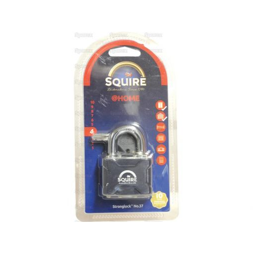Squire Stronglock Pin Tumbler Padlock - Steel (Security rating: 4) S.114397