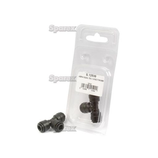 AGRIPAK EQUAL TEE CONNECTOR 6MM S.12599