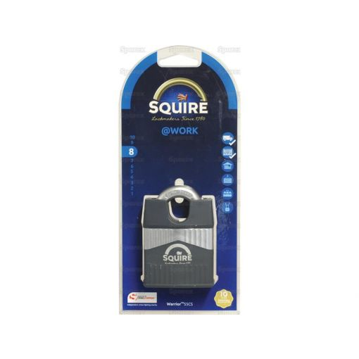 Squire 55CS Warrior Padlock (Security rating: 8) S.129871