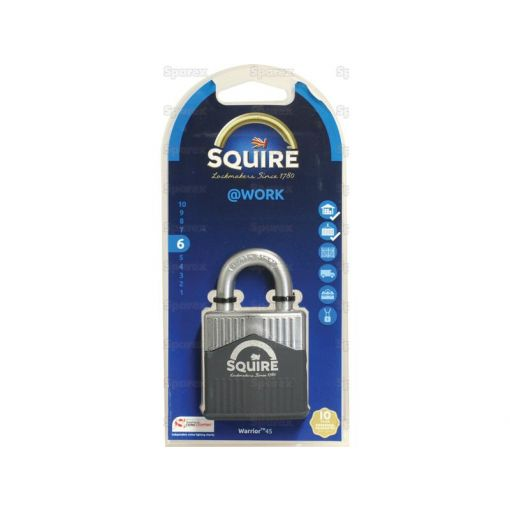 Squire 45 Warrior Padlock (Security rating: 6) S.129881