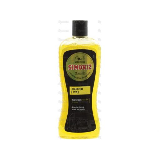CAR SHAMPOO-WASH & WAX-500ML S.18237