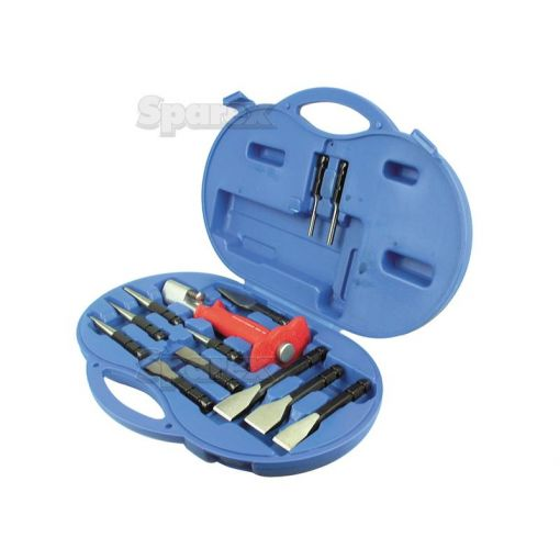 Chisel and Punch Set (Double Locking Device) (12pcs.) S.18268