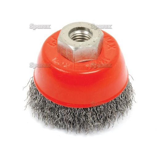 WIRE CUP BRUSH CRIMPED 60MM S.25361