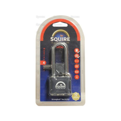 Squire Stronglock Pin Tumbler Padlock - Steel (Security rating: 4) S.26753