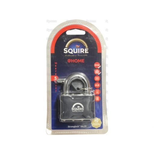 Squire Stronglock Pin Tumbler Padlock - Steel (Security rating: 5) S.26754