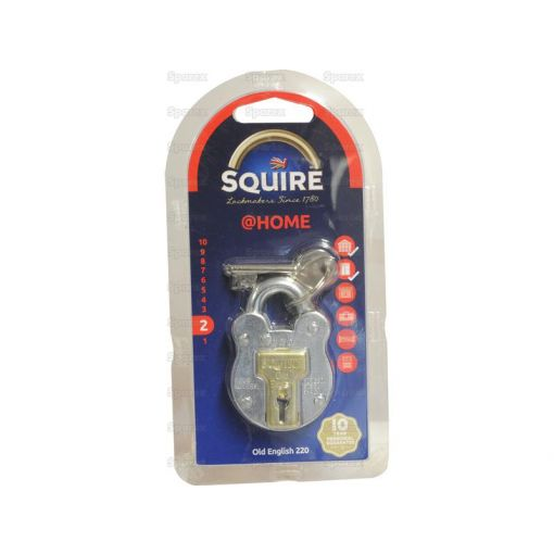Squire Old English Padlock - Steel (Security rating: 2) S.26756