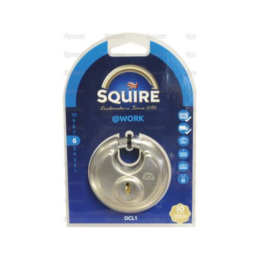 Squire DCL Range Padlock - Stainless Steel (Security rating: 6) S.26765