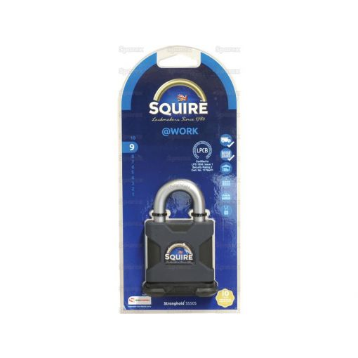 Squire Stronghold Padlock - Hardened Steel (Security rating: 9) S.26770