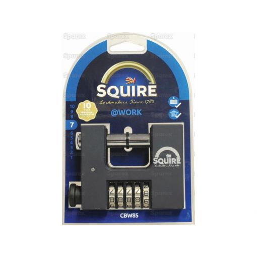 Squire Warehouse Padlock - Brass (Security rating: 7) S.28866