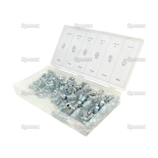 Grease Nipple Assortment - Imperial (110 pcs.) S.29896