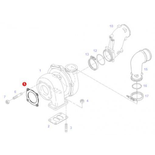 Gasket Turbocharger - 816200100060