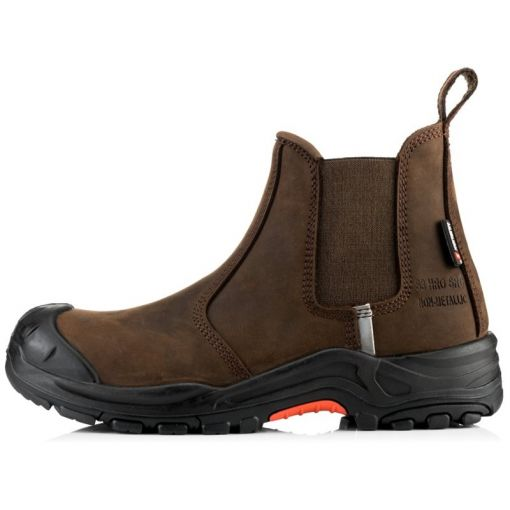 Nubuckz Safety Dealer Boot - NKZ101BR