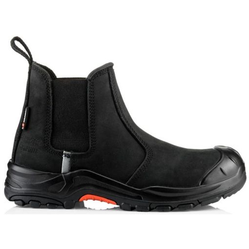 Nubuckz Safety Dealer Boot - NKZ101BK