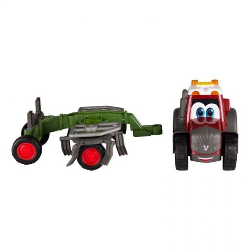 Toy Tractor with Tedder - Happy Valtra - V42802250